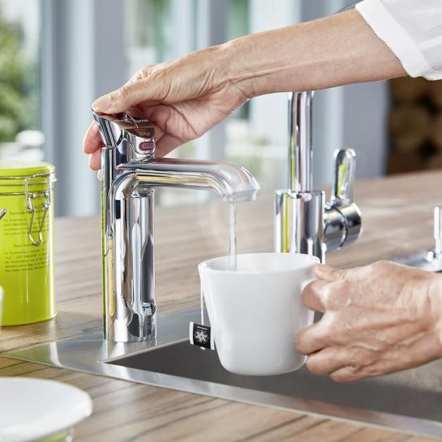 kochendes wasser aus der armatur - bauspot.de